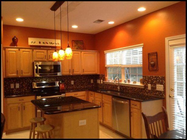 Kitchen:Kitchens Painted Orange Kitchens Painted Orange Modern ...