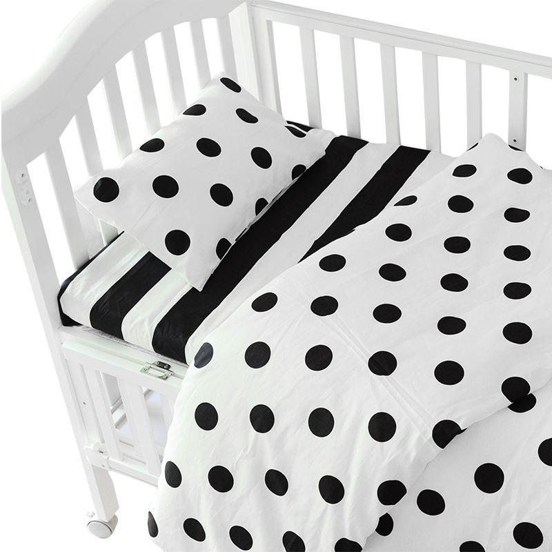 3pcs set ins crib bed linen baby beddingset pillow case bed sheet duvet cover without filling. Black Bedroom Furniture Sets. Home Design Ideas