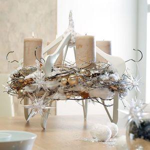 design ideen f r moderne adventskr nze weihnachtsfloristik hinstellerlich pinterest. Black Bedroom Furniture Sets. Home Design Ideas