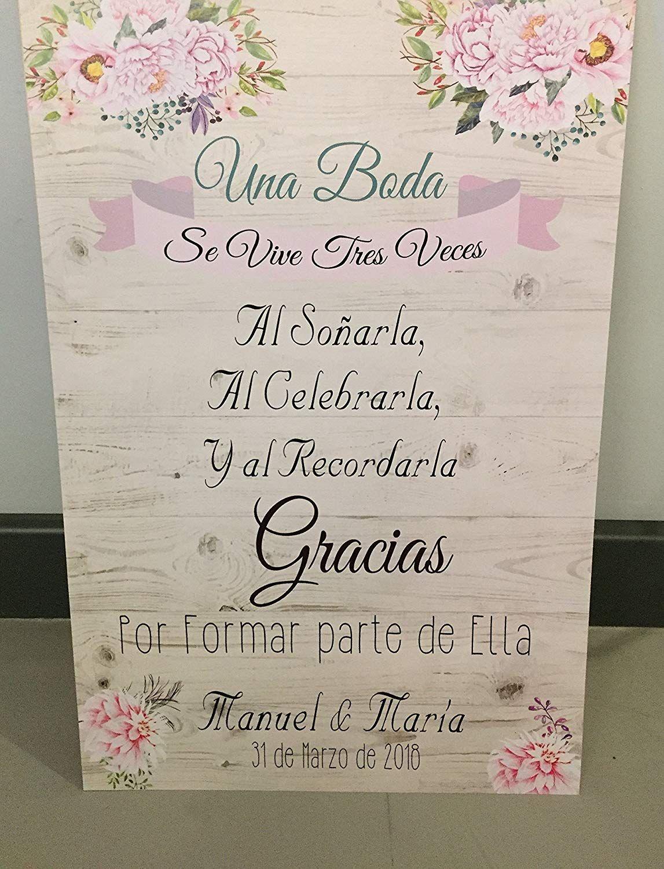 ▷Carteles y pizarras de bienvenida para tu boda