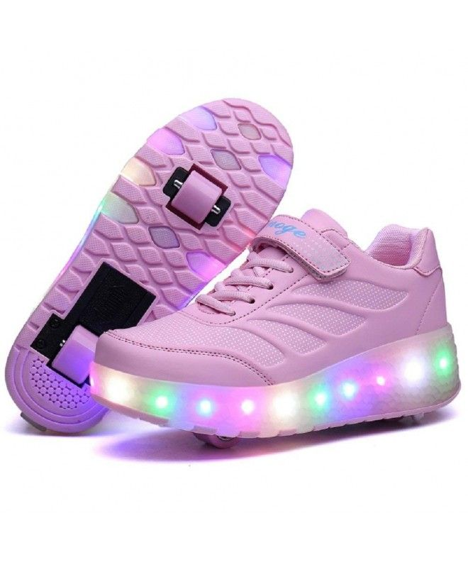 Roller Shoes Sneakers Wheels - 818-pink