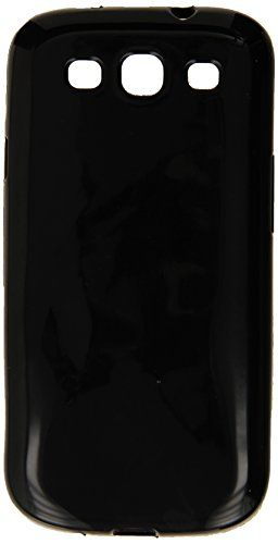 Generic Silicone Rubber Gel Soft Skin Case Cover for Samsung Galaxy S3 i9300/I535/L710/T999/I747  Retail Packaging  Black