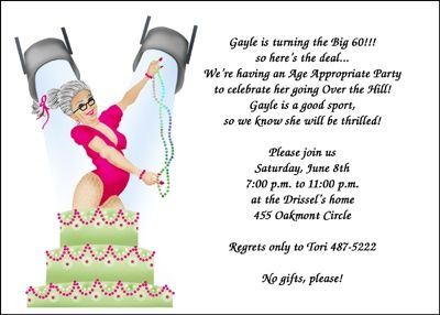 ensure your adult birthday party invitation wording includes all