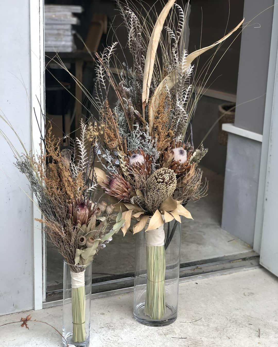 ドライフラワーbouquet 玄関ディスプレイ用に 花瓶に合わせて束ねました 男前 Hanaya Tutahituji 花や蔦ひつじ 束ねる Bouquet ドライフラワー ド Dried Flower Arrangements Dried Flower Bouquet Flower Display