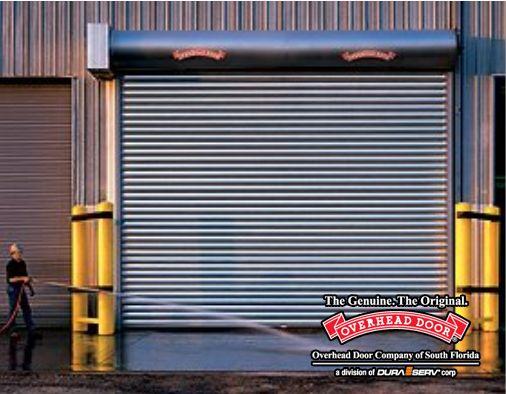 Overhead Door Model 620 Stormtite Rolling Steel Service Door In 2020 Rolling Steel Doors Overhead Door Overhead Door Company