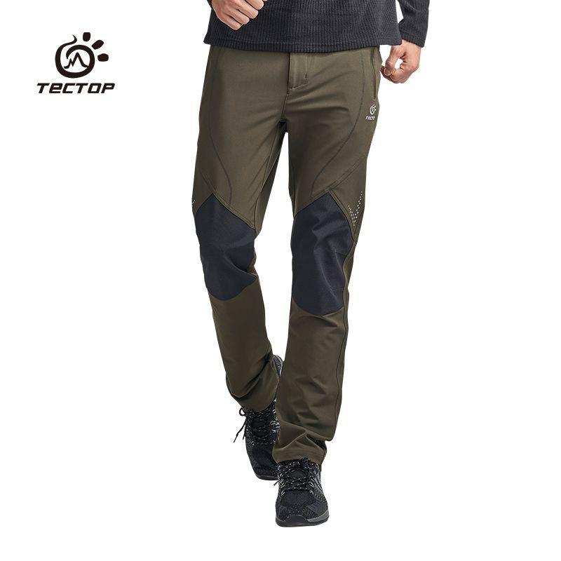 Men Quick Dry Pants Tactical Hiking Climbing Combat Trousers Waterproof Pants US