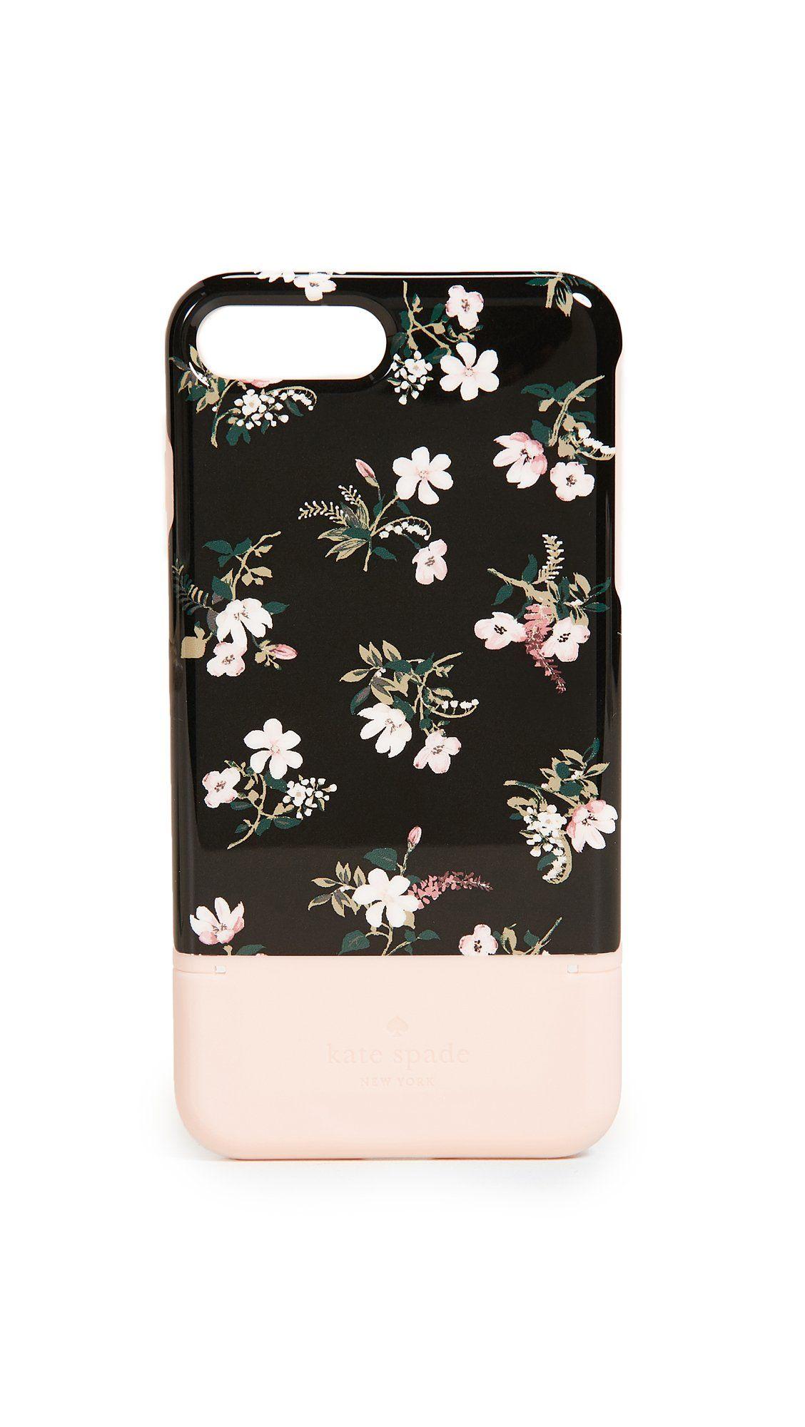Kate spade new york flora credit card iphone plus case