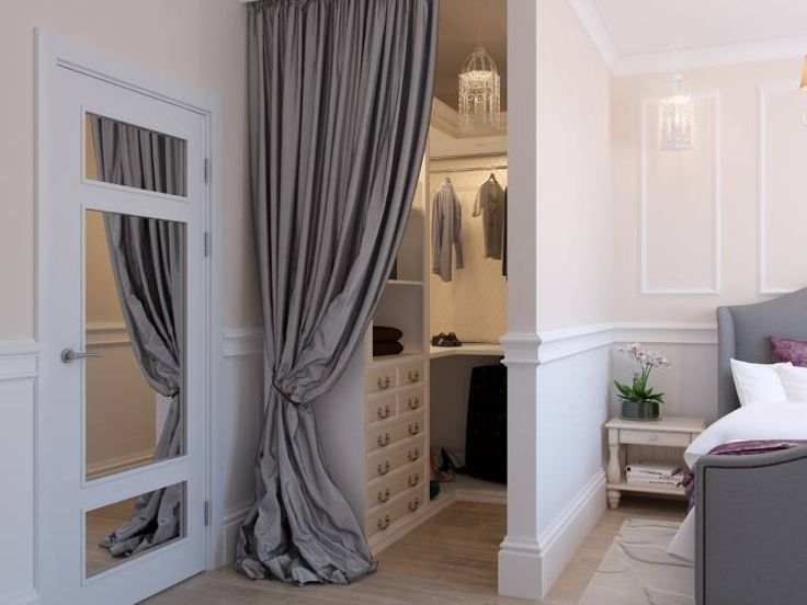 vorhang statt t r im ankleidezimmer ankleide pinterest. Black Bedroom Furniture Sets. Home Design Ideas