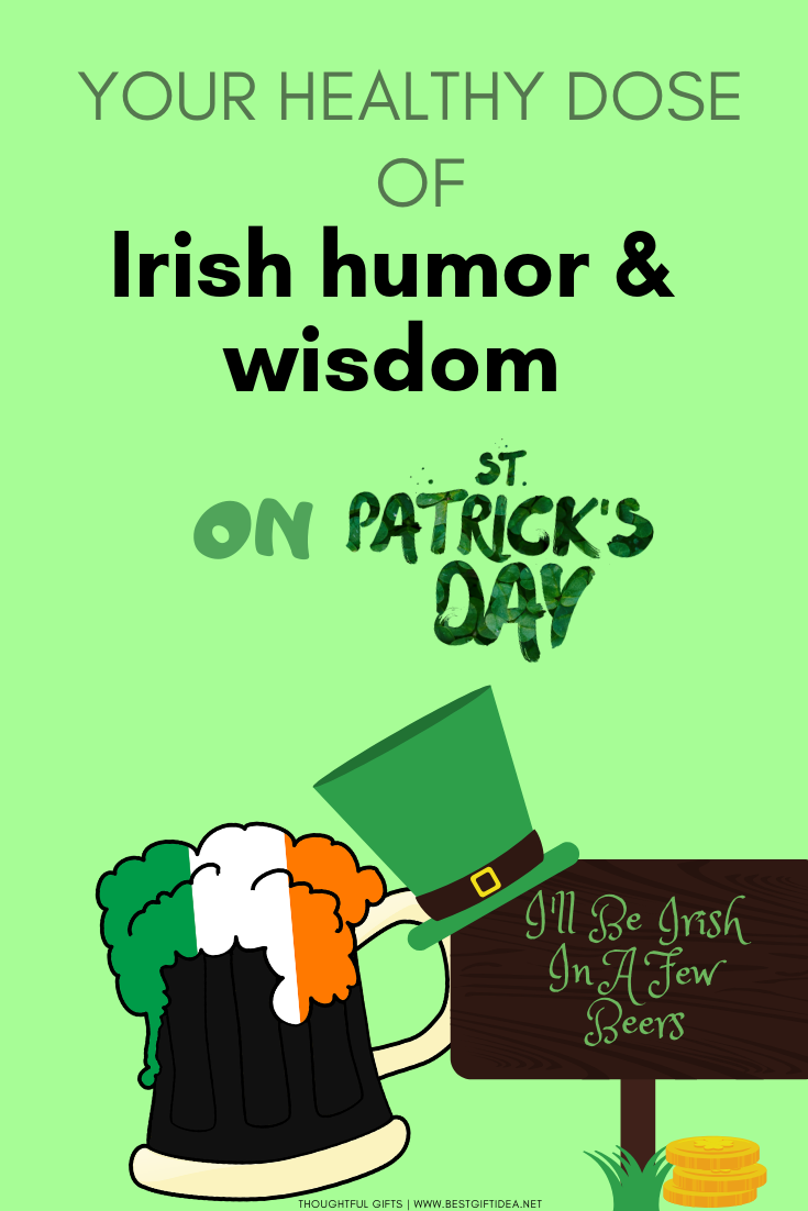 St.Patrick's Day Sayings Irish Wisdom & Sense of Humor