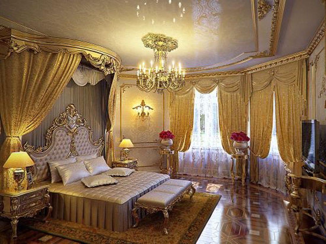 Beautiful Gold Bedroom