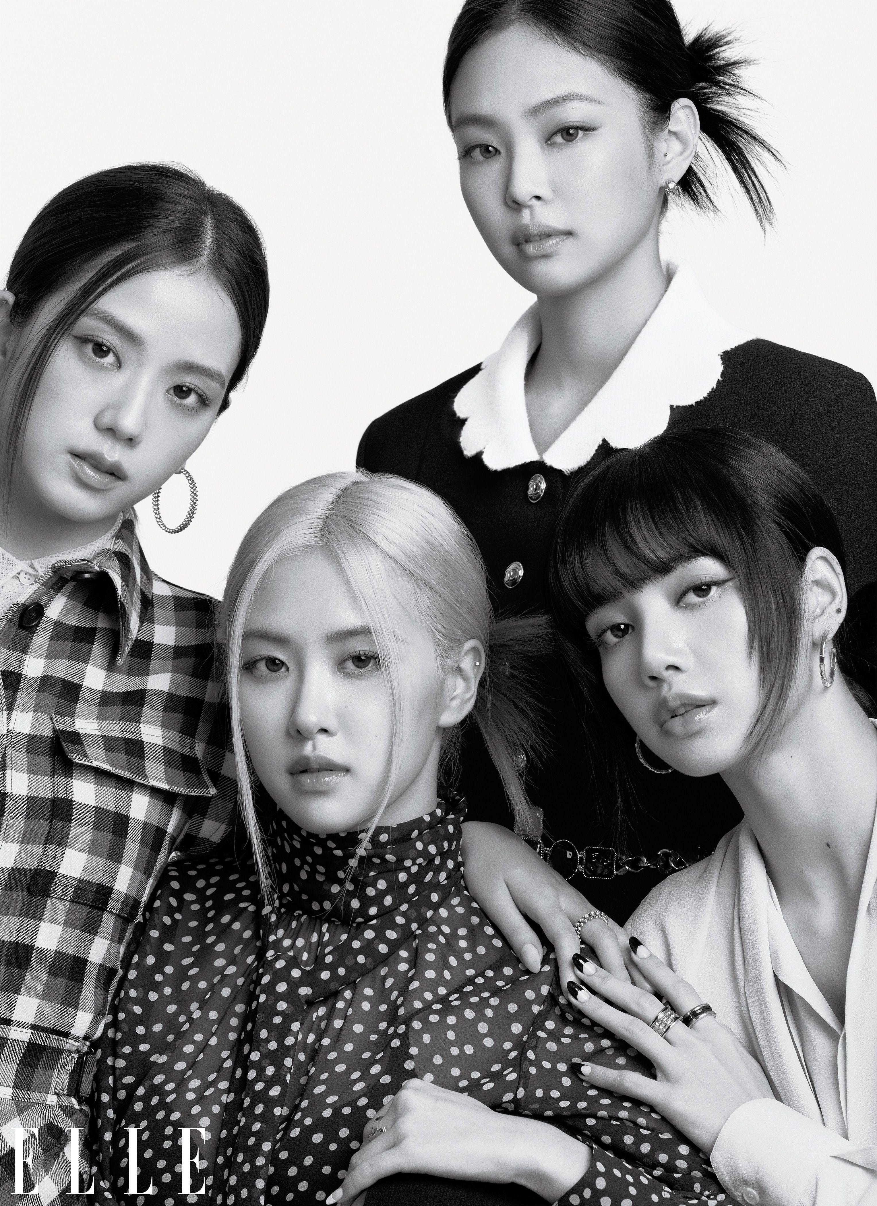 Blackpink Elle October 2020 Photoshoot (HD/HQ/HR) - K-Pop Database / dbkpop.com