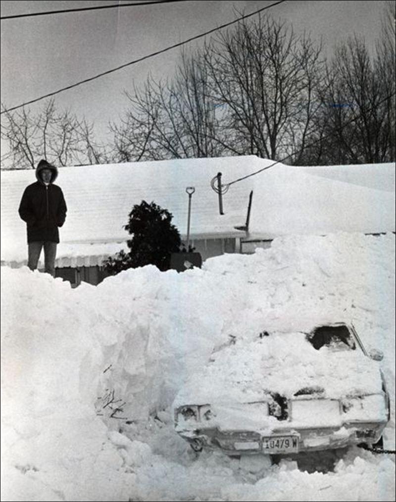 Blizzard Of 1978 1978 Ohio Winter Storm Chicago Snow