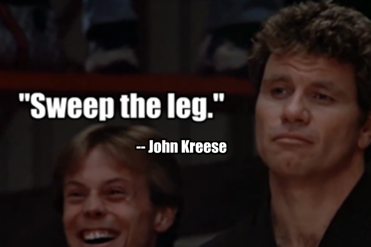 The 50 AllTime Greatest Sports Movie Quotes Karate kid