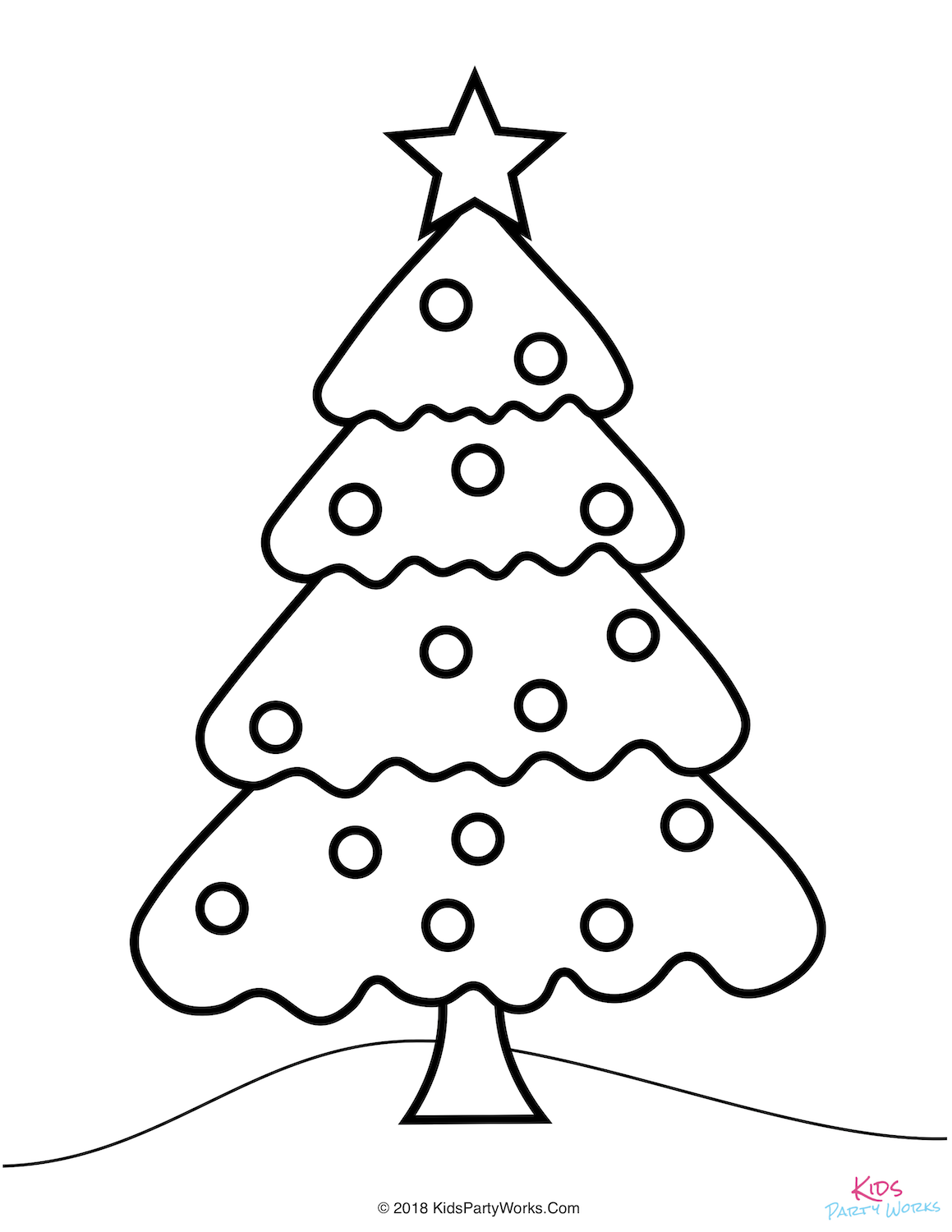 Free Christmas Tree Coloring Page In 2020 Christmas Tree Coloring Page Tree Coloring Page Christmas Coloring Pages