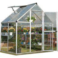 Photo of Sunrise Outdoor Large Heavy Duty Walk-In Plant Gardening Greenhouse, 20'x10'x7′ – Walmart.com