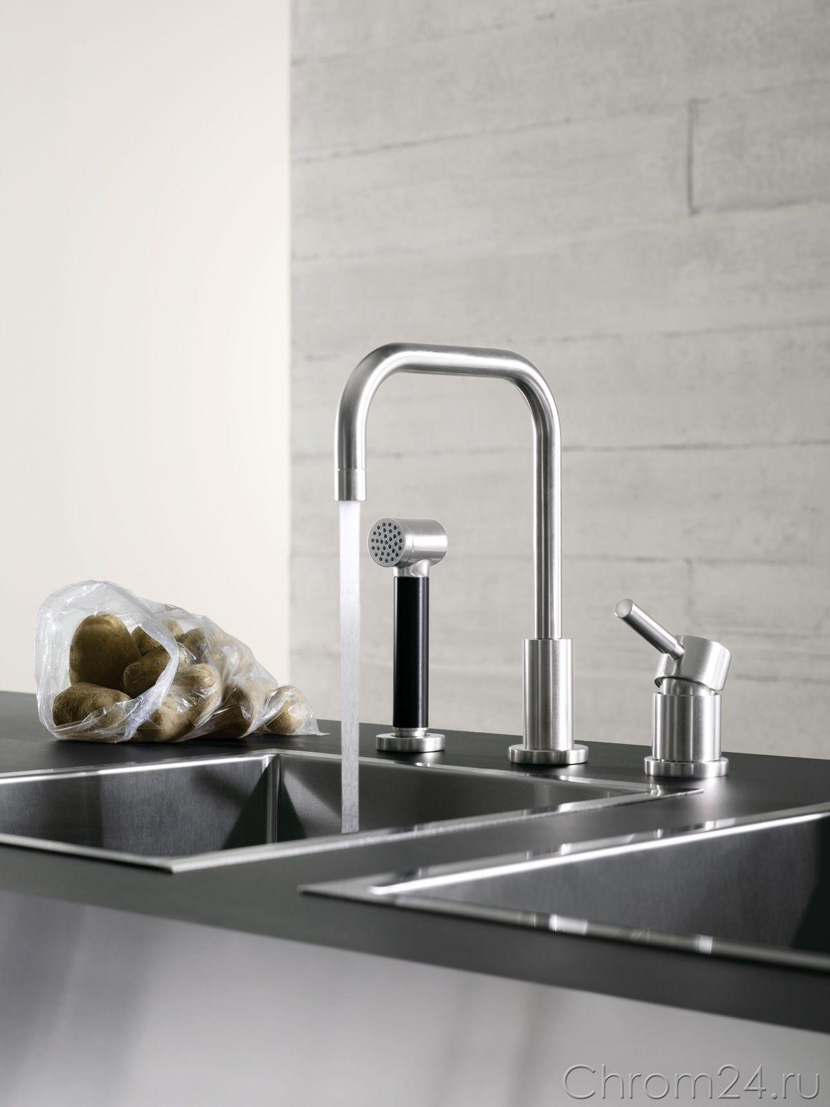 Dornbrachtu0027s Kitchen Faucet With Hand Spray / Collection