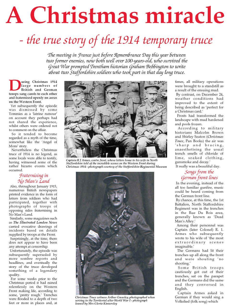 Christmas Truce 1914 | Military | Pinterest | Christmas truce ...