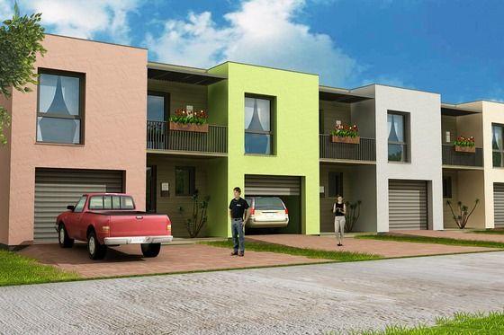 House Plan 538-1 #Houseplans #ModernHouse Modern House plans
