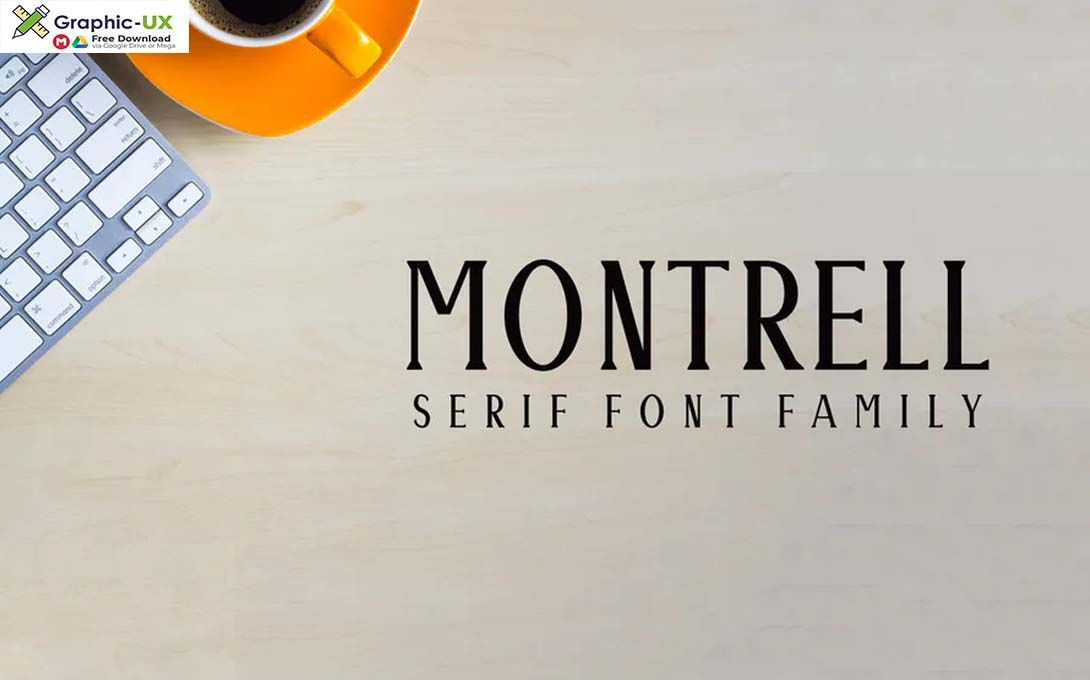 Download Montrell Serif Font Family Pack Font For Free Download ...