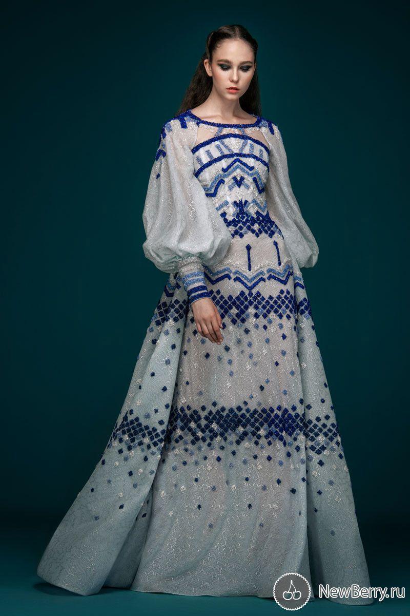 Saiid Kobeisy Haute Couture осень-зима 2018-2019   Мода от ...  Тематические Свадьбы Зимой