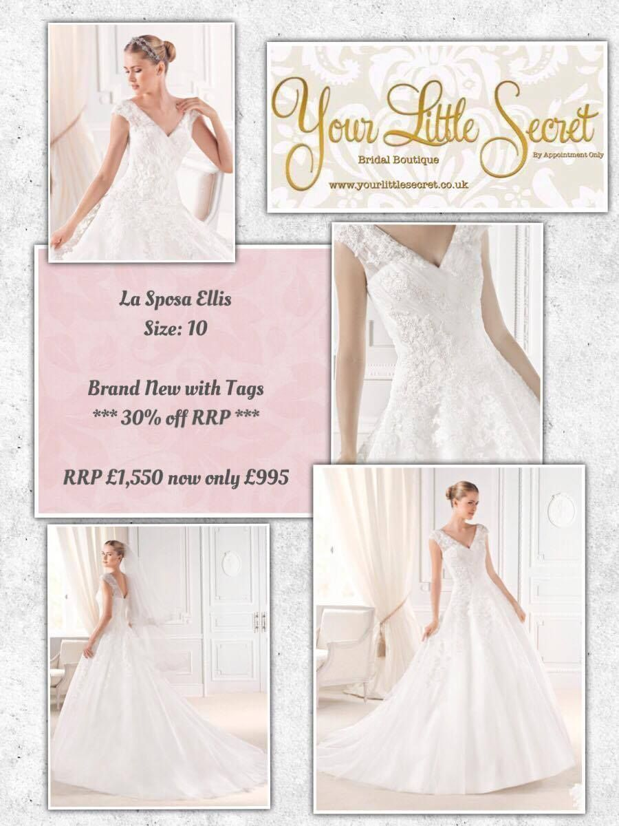 Pre Loved Designer Bridal Dresses Second Hand Nearly New