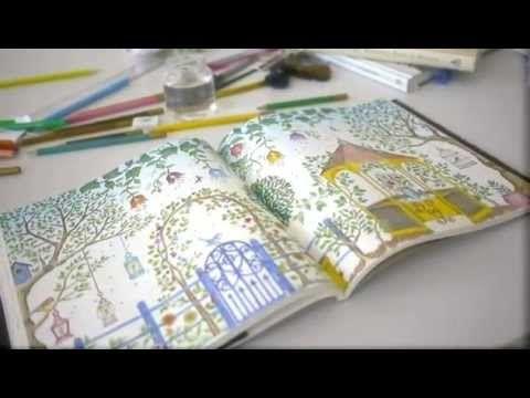 Colorindo O Livro Jardim Secreto De Johanna Basford