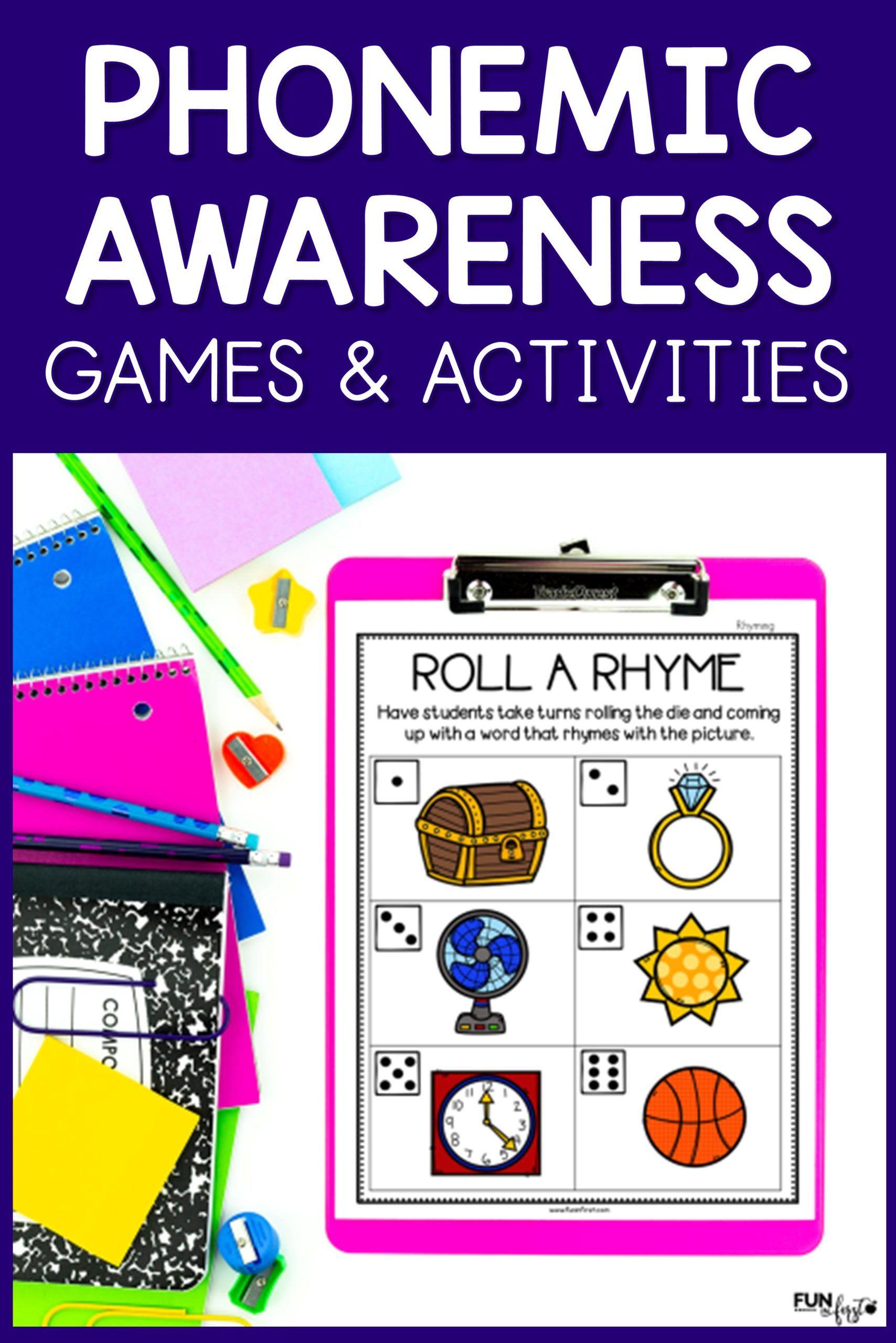 Quick And Easy Phonemic Awareness Activities In