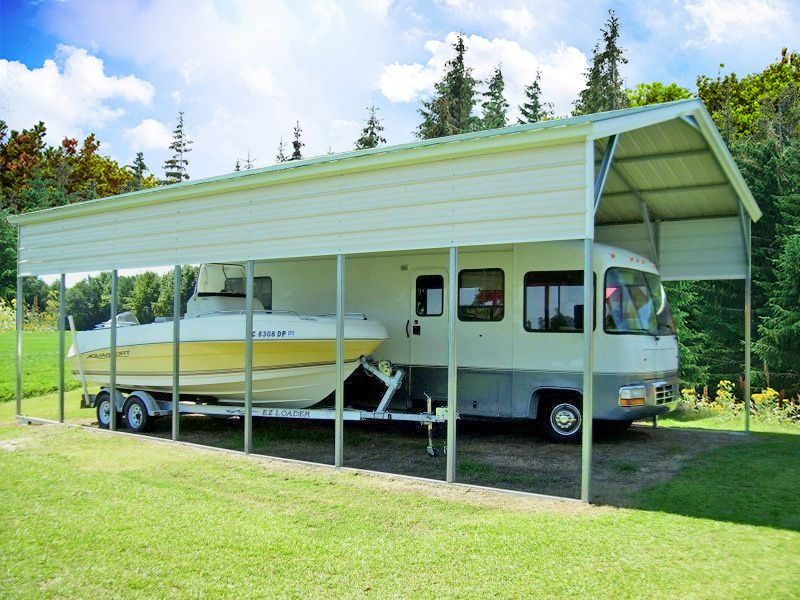 20x36 vertical roof rv carport (With images) Rv carports
