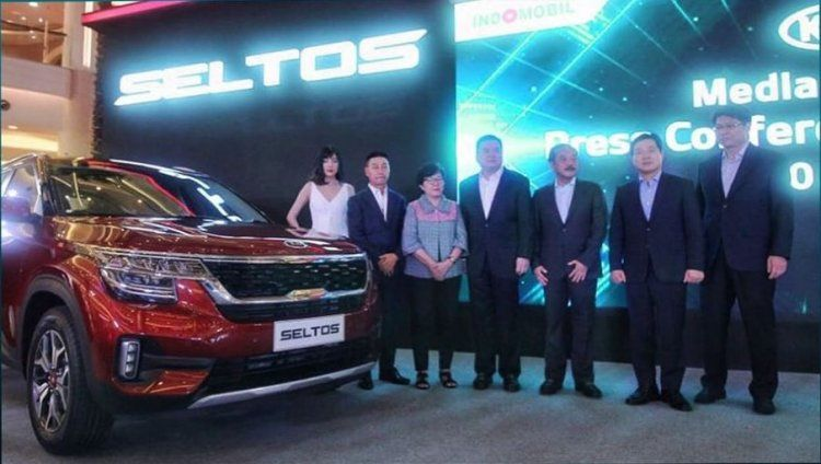 India Made Kia Seltos Starts Reaching Export Markets Launched In Indonesia Electronic Stability Control Chrome Door Handles Audio System