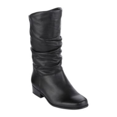 St. John's Bay® Jamie Slouch Leather Womens Boots found at @JCPenney