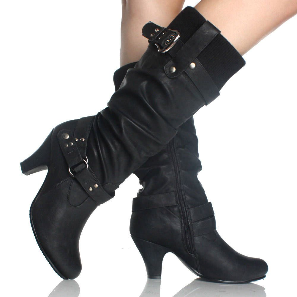 womens black high heel boots 28 images modern