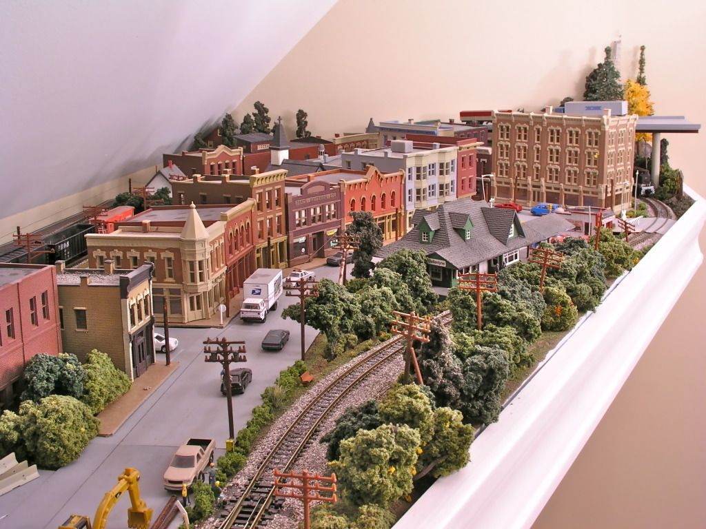 Model Train Town  Modeltrainlayouts