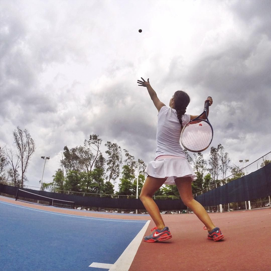 #Tennis shots with #GoPro