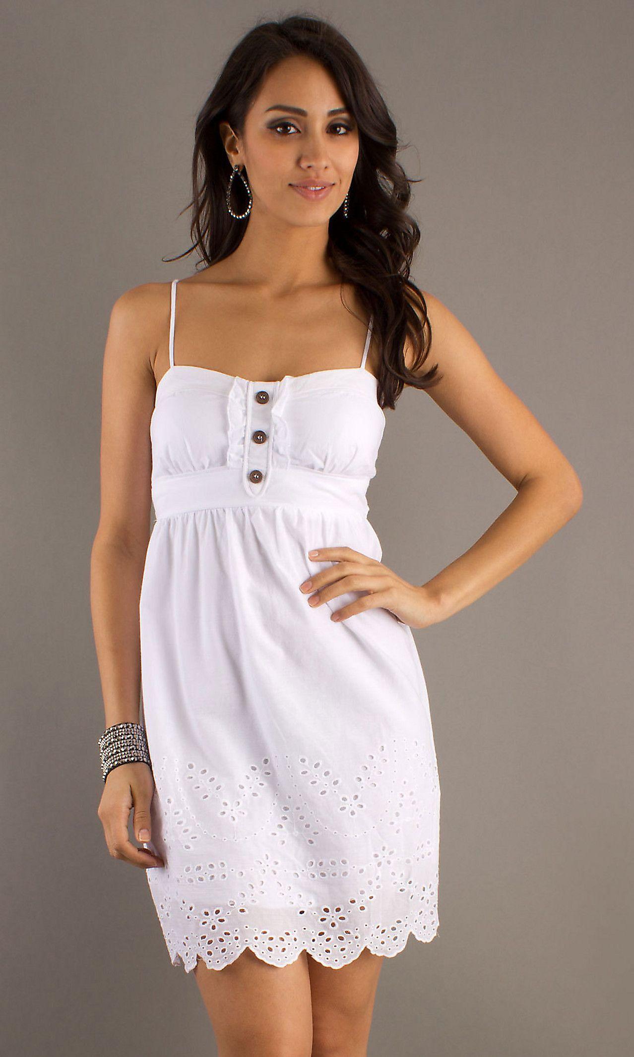 summer-dress-white | White Summer Dress | Pinterest | Clothing ...