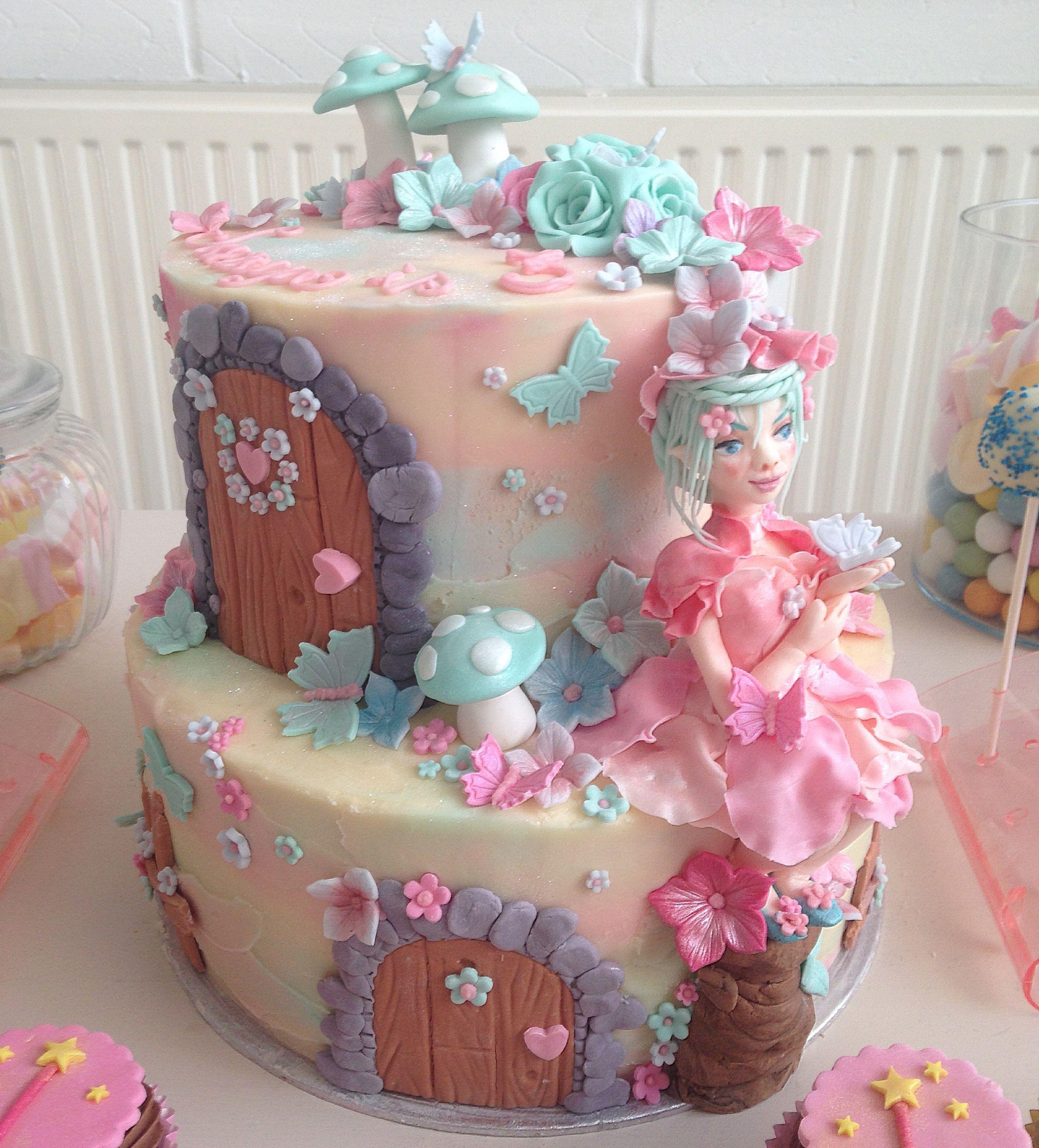 Fairy Birthday Party Decorations Fairy Birthday Cakejpg 24472704 Koras Birthday Ideas
