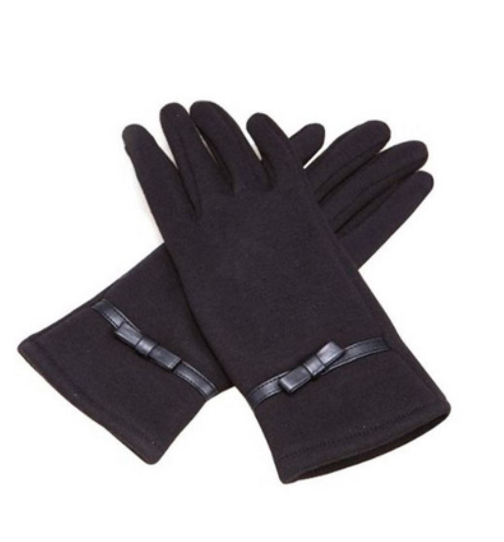 Women/'s Fleece Smartphone and Tablet Touch Screen Compatible Gloves One Size