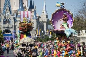 "Disney Festival of Fantasy Parade: ""The Little Mermaid"""