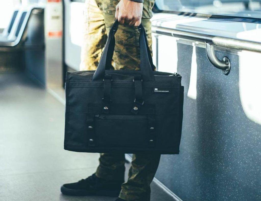 Mission Work Transit Arkiv Weatherproof Laptop Briefcase