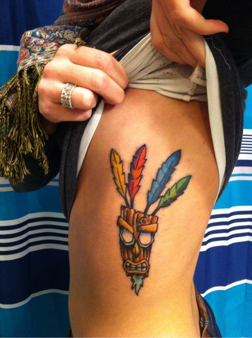 Our childhood in ink crash bandicoooooot funny and for Aku aku tattoo