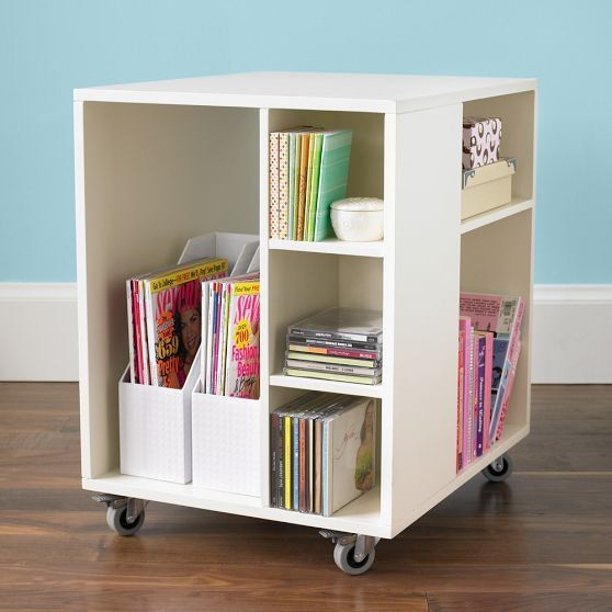 Rolling Under Desk Storage Keep Your Clear And Everything In This Adorable Cart