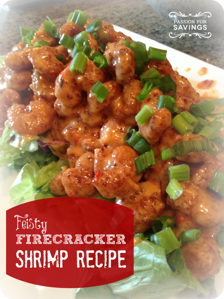 Firecracker Shrimp Recipe - Passion For Savings