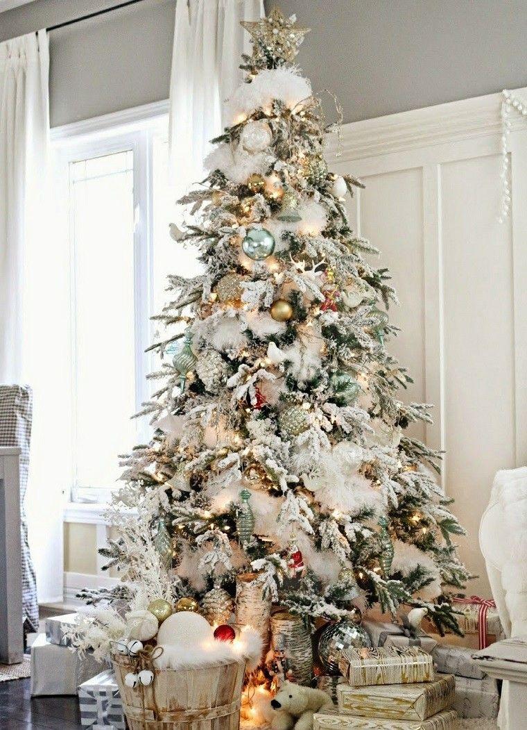 Arbol de navidad 50 ideas preciosas para decorar Pinterest