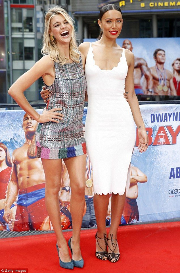Alexandra And Kelly Wow At Baywatch Premiere In Berlin