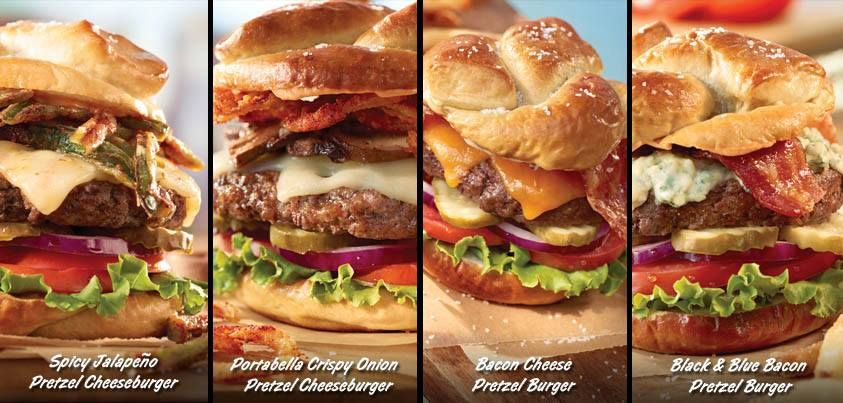 Ruby Tuesday Google Search Pretzel Burger Food Trends Meat