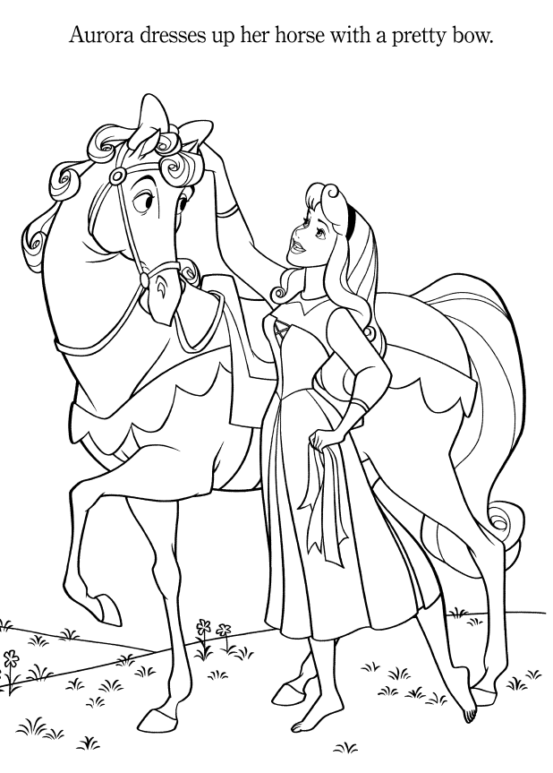 Aurora Colouring Pages Part II