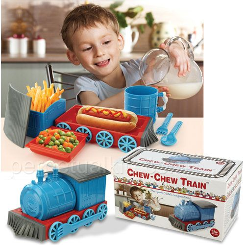Chew Chew Train Dinner Set And More Good Gifts At Perpetual Kid. The Chew Chew  Train Is A Great Way To Make Sure Kids Of All Ages Eat Their Dinner!