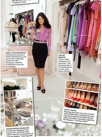 Lisa Vanderpump A Belt Helps To Define Her Small Waist