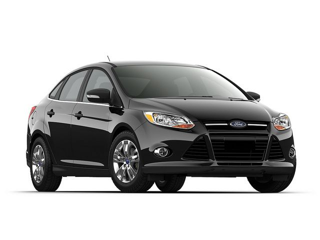 Ford Focus 2012 Available As Either A Sedan Or Hatchback The Ford Focus Can Handle The Needs Of Most Single Drivers Or Fa Ford Focus 2012 Ford Focus Car Ford
