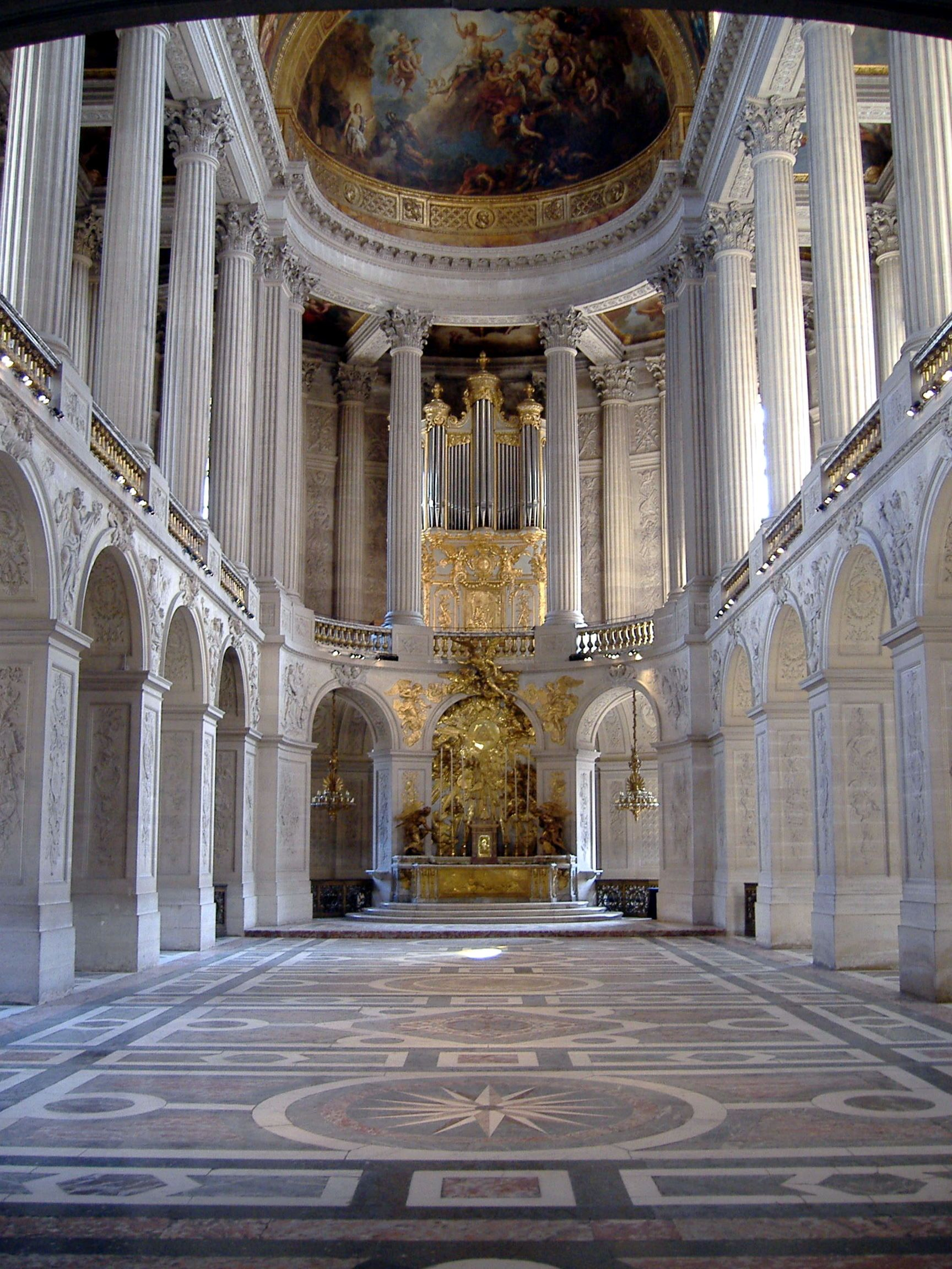 The king's private chapel, Versailles