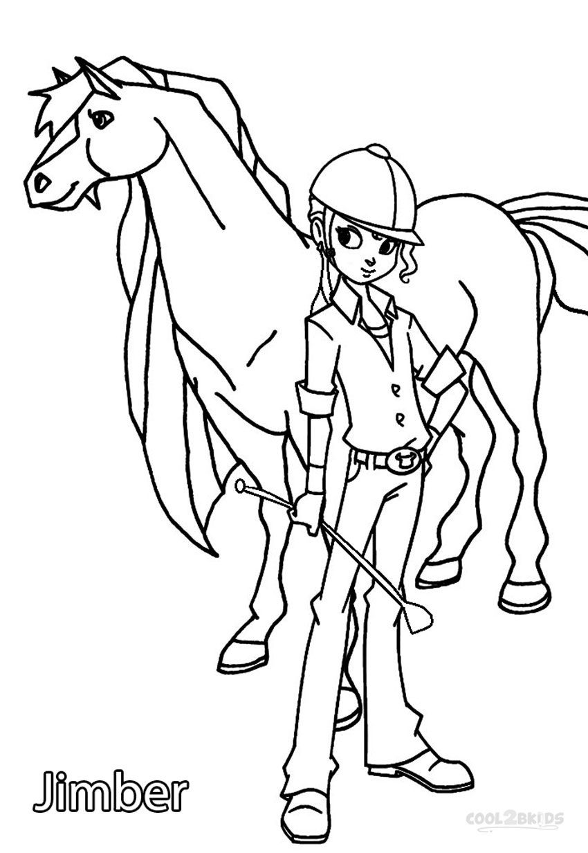 Horseland Coloring Pages Printable Horseland Coloring Pages For Kids  Cool2Bkids  Video